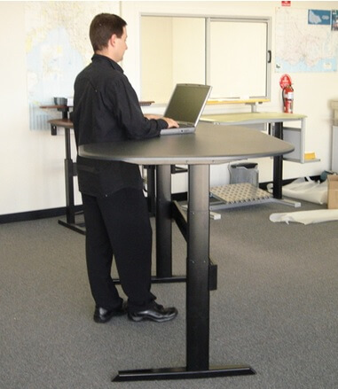 benefits of standing desk