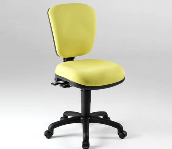 Ergomotion-yellow-arm-chair
