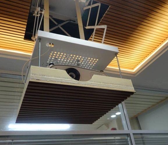 Projector-Lift-Ergomotion