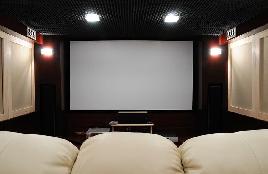Projector lift at home