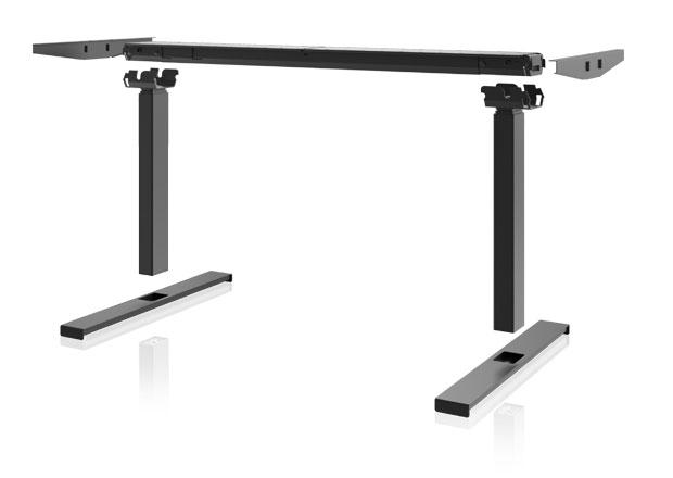 Desk frame