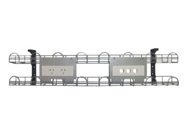 Double Tier Cable tray with power points